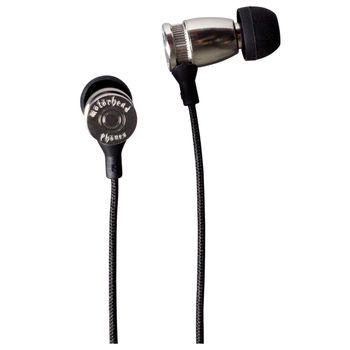 Sluchátka Motörheadphönes Trigger stříbrná + Pouzdro Capricorn (černá/bílá)