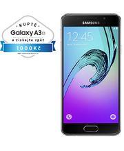 Samsung Galaxy A3 2016 (SM-A310F), 16GB, černá, akce cashback 1 000 Kč