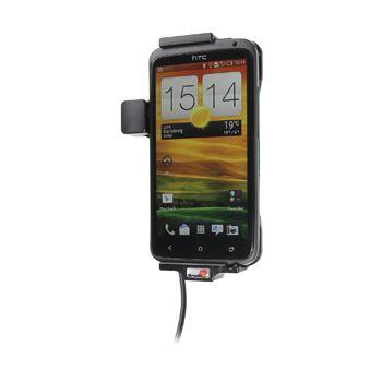 Brodit držák do auta na HTC One X bez pouzdra, se skrytým nabíjením