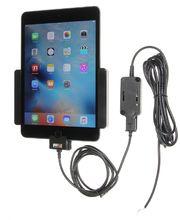 Brodit držák do auta na Apple iPad Mini 4 bez pouzdra, se skrytým nabíjením, rozbaleno