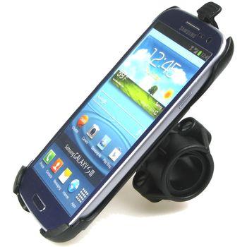 Sestava SH držáku pro Samsung Galaxy S III i9300 s držákem na řídítka na kolo pro uchycení telefonu