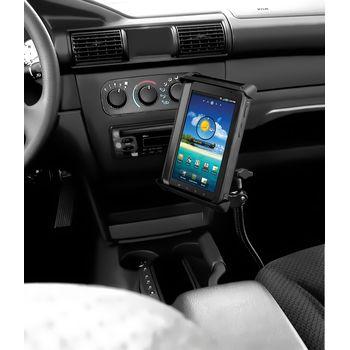 """RAM Mounts univerzální držák na tablet 7"""" až 8"""" do auta s úchytem na patu sedadla spolujezdce, čelisťový, sestava RAM-B-316-TAB-SMU"""