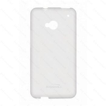 Kisswill TPU ochranný kryt pro Lenovo A5000, bílý