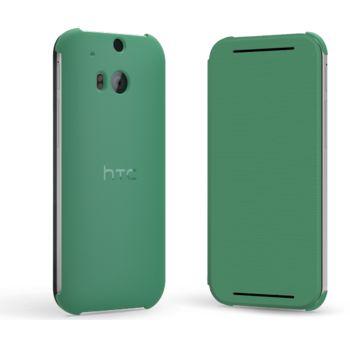 HTC flipové pouzdro HC V941 pro HTC One (M8), zelené