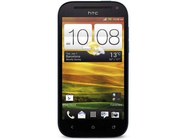 obsah balení HTC One SV modrá + SanDisk ultra rychlá paměťová karta 16GB
