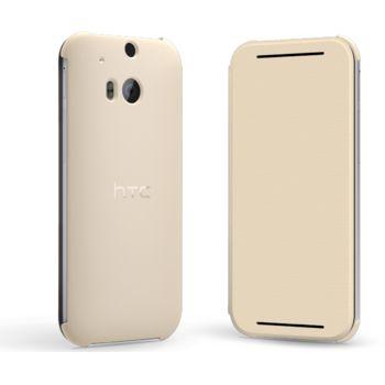 HTC flipové pouzdro HC V941 pro HTC One (M8), bílé