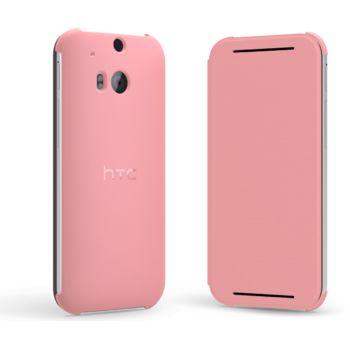 HTC flipové pouzdro HC V941 pro HTC One (M8), růžové