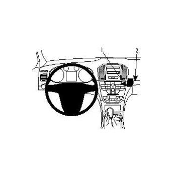 Brodit ProClip montážní konzole pro Opel Insignia 09-13, na střed