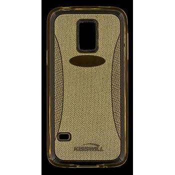 Kisswill TPU Shine pouzdro pro Samsung G530 Galaxy Grand Prime, zlaté
