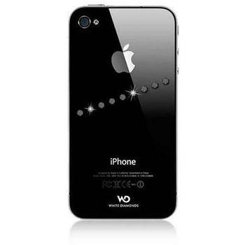 White Diamonds kryt Sash pro Apple iPhone 4/4S - crystal