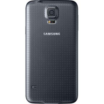 Samsung zadní výměnný kryt EF-OG900SB pro S5, černý