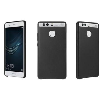 Huawei kožené pouzdro pro P9 Plus, černé