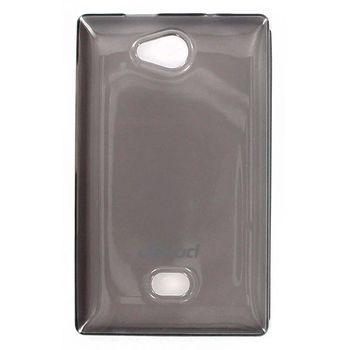 Jekod TPU silikonový kryt Nokia Asha 503, černá