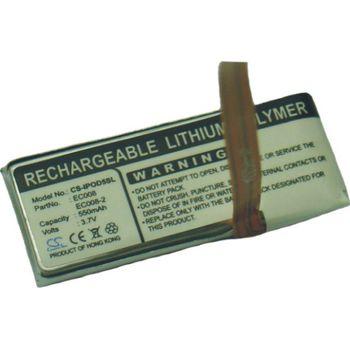 Baterie náhradní iPod Video, iPod Classic (550mAh)