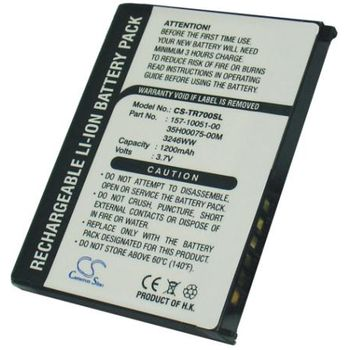 Baterie pro Palm Treo 680, Treo 680v, Treo 750, Treo 750v Li-ion 3,7V 1200mAh