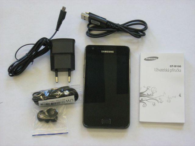 obsah balení Samsung Galaxy mini S5570 Steel Gray