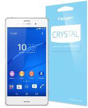 Spigen ochranná fólie Crystal pro Sony Xperia Z3 na displej + tělo, čirá