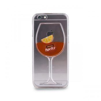 """Puro zadní kryt pro Apple iPhone 6/6s """"Aperol Spritz"""", transparentní"""