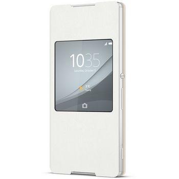 Sony flipové pouzdro Style Cover SCR30 pro Xperia Z3+, White
