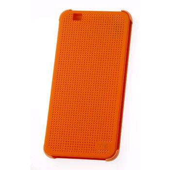HTC flipové pouzdro Dot View HC M160 pro Desire Eye, oranžové