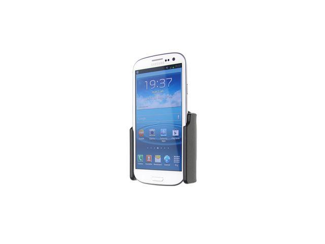 obsah balení Brodit držák do auta pro Samsung Galaxy S III i9300 bez nabíjení + adaptér pro snadné odebrání držáku z proclipu