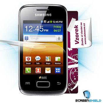 Fólie ScreenShield Samsung S6102 Galaxy Y Duos ochrana displeje-displej+voucher na skin