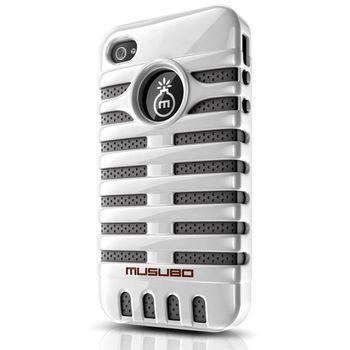 Musubo pouzdro Elvis pro Apple iPhone 4/4S - bílé