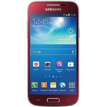 Samsung GALAXY S4 mini i9195, červená + červený bezdrátový stereo reproduktor
