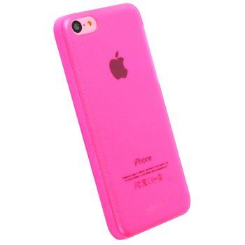 Krusell FrostCover kryt pro Apple iPhone 5C, růžová