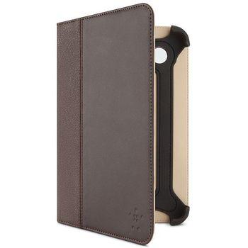 Belkin Leather Cinema Folio pouzdro pro Samsung Galaxy Tab 2 7.0, hnědá kůže (F8M388cwC01)