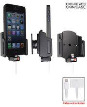 Brodit držák do auta na Apple iPhone 5/5S/5C/SE bez pouzdra, s průchodkou z 30-pin na Lightning kab