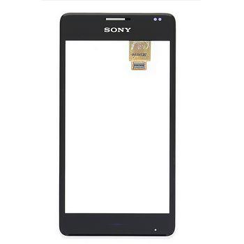 Náhradní díl přední kryt vč. dotyku pro Sony D2005 Xperia E1, bílý