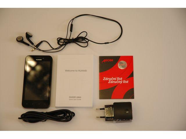 obsah balení Huawei U8860 Honor Black