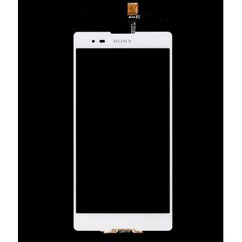 Náhradní díl LCD displej + dotyková deska pro Sony D5303 Xperia T2 Ultra, bílý