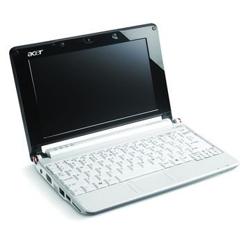 "Acer Aspire ONE A150-Bb /8.9""/VGA/Intel Atom N270/2x512MB/160GB/5-in-1/0.3MPx/XPH (Bílá)"