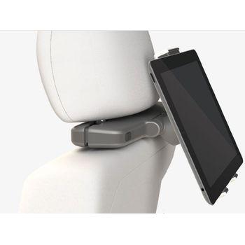 Exelium univerzální držák pro tablet na opěrku hlavy UP´250, bílá