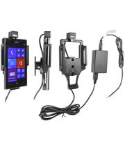 Brodit držák do auta na Nokia Lumia 925 bez pouzdra, se skrytým nabíjením
