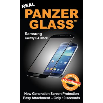 PanzerGlass ochranné sklo pro Samsung Galaxy S4, černé