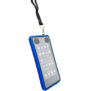 Krusell pouzdro vodotěsné SEaLABox - XL - Sam Galaxy S/SII, HTC Sens./Desire/HD, SE Arc (modrá)