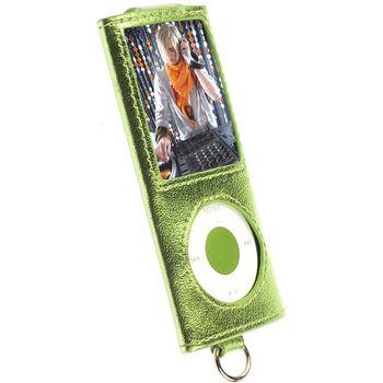 Krusell pouzdro Encore - Apple iPod Nano 4G - zelená