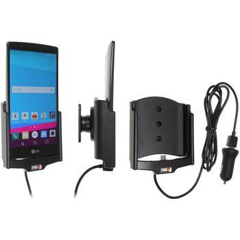 Brodit držák do auta na LG G4 (H815) bez pouzdra, s nabíjením z cig. zapalovače/USB