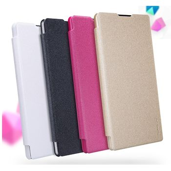 Nillkin flipové pouzdro Sparkle Folio pro Sony Xperia XA, bílé