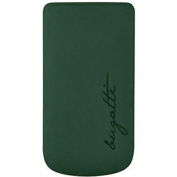 Bugatti Perfect Velvety leather case pro Samsung Galaxy S III (i9300) - zelené