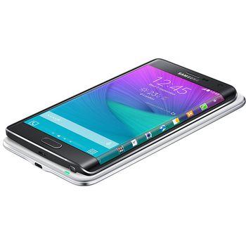 Samsung sada pro bezdrátové nabíjení (kryt + podložka) EP-WN915IB pro Galaxy Note Edge, černá
