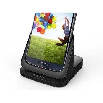 Kidigi UltraThin dobíjecí kolébka s HDMI výstupem pro Samsung Galaxy S4, černá