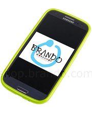 Pouzdro měkké plastové Brando - Samsung Galaxy S III i9300 (zelená)
