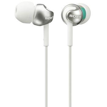 SONY sluchátka MDR-EX110LP, bílá