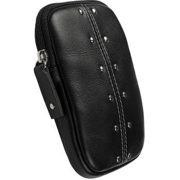 Krusell pouzdro Kalix pro kompaktní fotoaparáty 110x70x12 mm (černá)