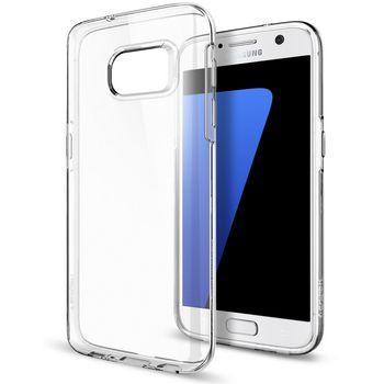 Spigen pouzdro Liquid pro Galaxy S7, průhledné