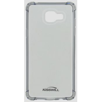 Kisswill Shock TPU pouzdro pro Samsung A310 Galaxy A3 2016, šedá